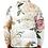 Thumbnail: I Am Dope - White Roses Puffer Jacket