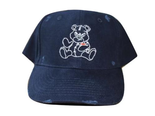 Kruddy99 - Distressed Navy Blue Baseball Cap