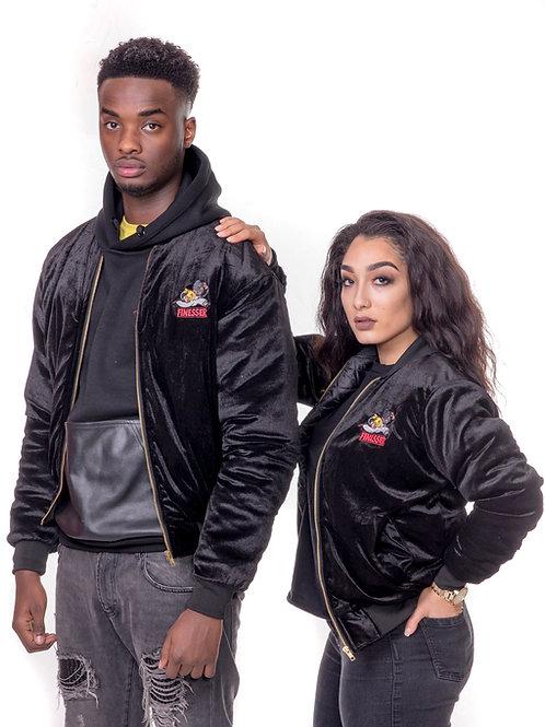 Finesser - Black Velvet Jacket