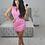 Thumbnail: Dray N Blue - Track Dress Bubble Gum