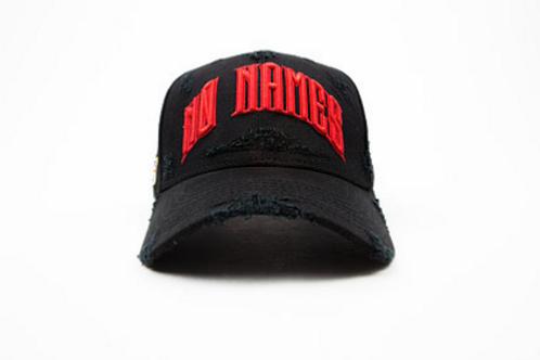 NNC London - Black British Cap (Non-Distressed)