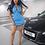 Thumbnail: Dray N Blue - Track Dress Sky Blue