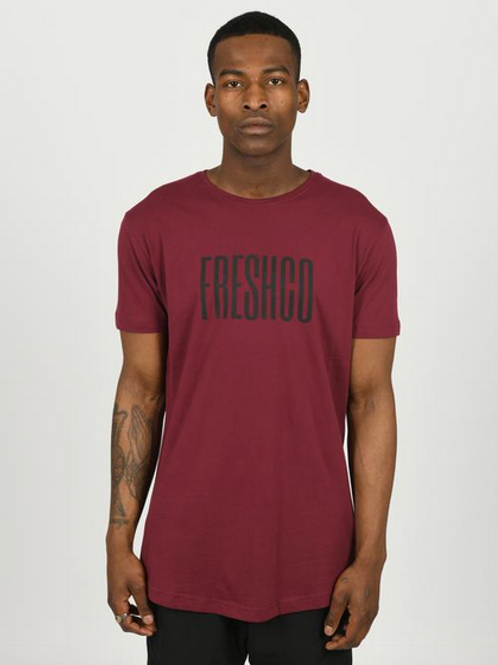 Youngfreshco - Ox Blood Brand Carrier T Shirt