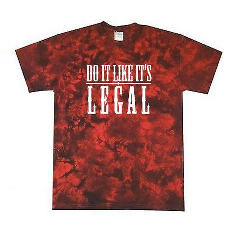 A-Tie - Red - Ltd T-shirt