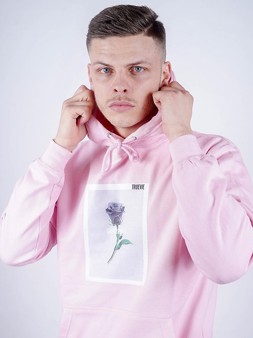 TrueVie - Pink Grey Growth Hoodie