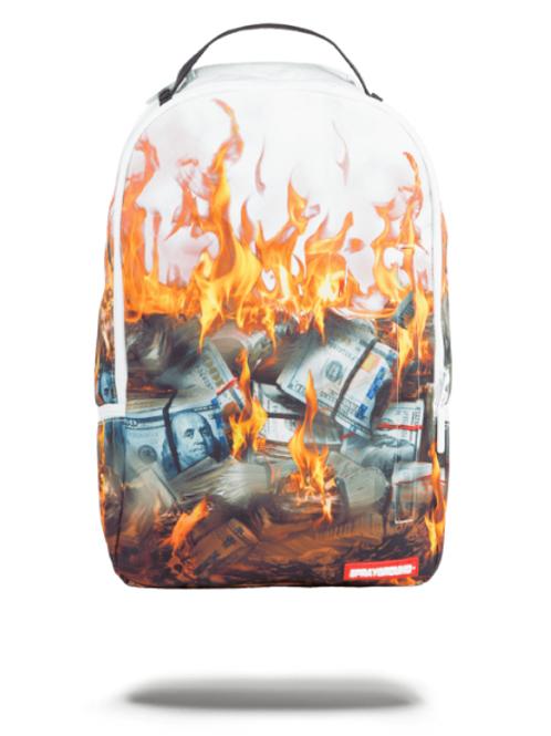 Sprayground - White Fire Money