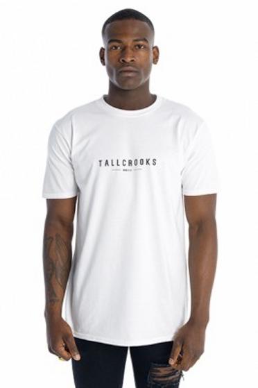 Tall Crooks - Tall Crooks Logo T-Shirt White