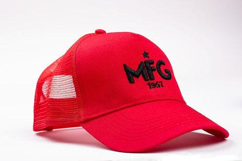 MFG - Red Trucker Cap