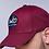 Thumbnail: SeeÈO - Burgundy Distressed Baseball Cap