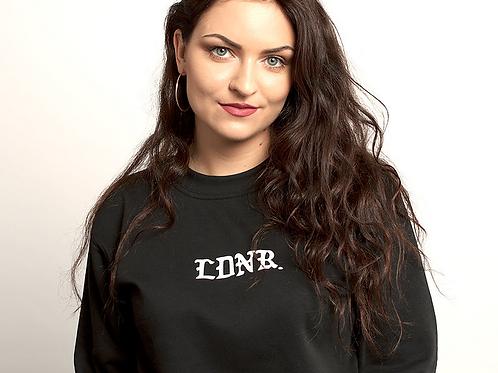 Proud Ldnr - LDNR Old English Crew Neck Sweat - Black