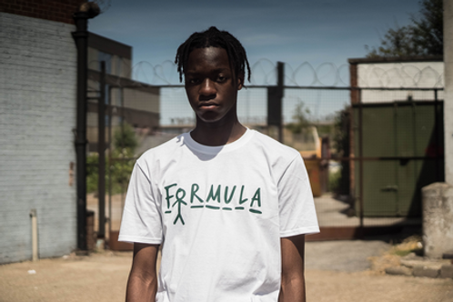 For Mula - Hangman T-shirt -White