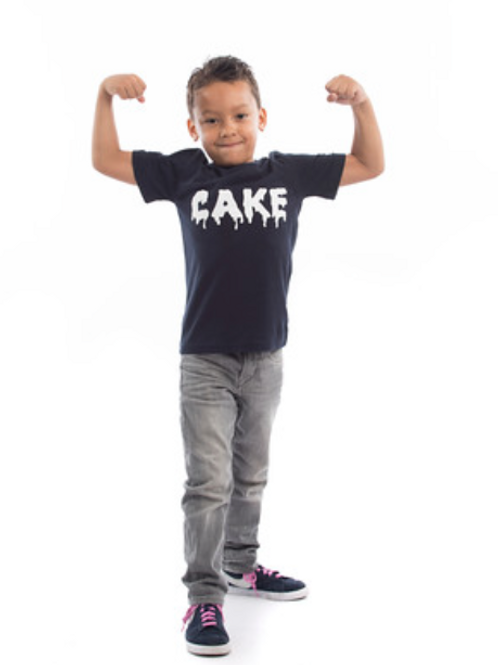 The Cake Club Junior Iced T-Shirt Multiple Colours
