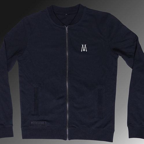 Moonshine - Black Label Blue Zip Up Sweatshirt