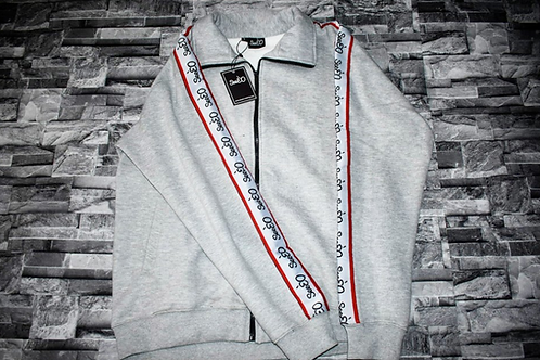 SeeÈO - Grey SeeÈO Taped Tracksuit Top