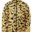 Thumbnail: I Am Dope - Gold Pattern Puffer Jacket