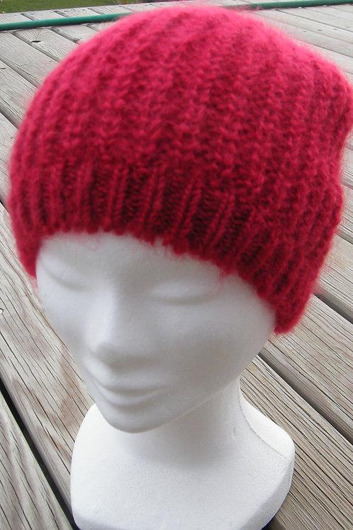 Bonnet tricoté Rubis