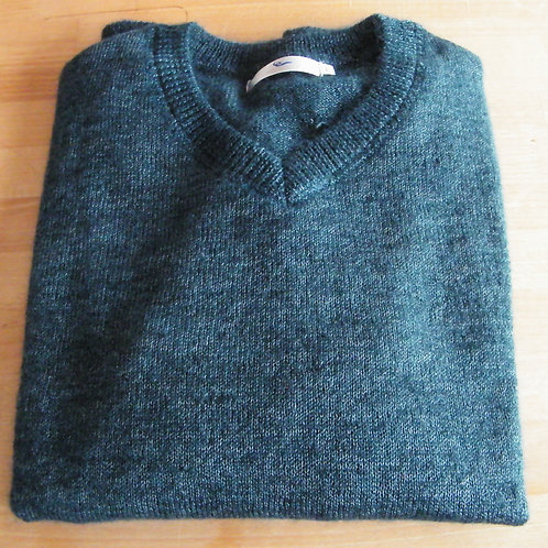"""Pull Homme col """"V"""" Paon"""
