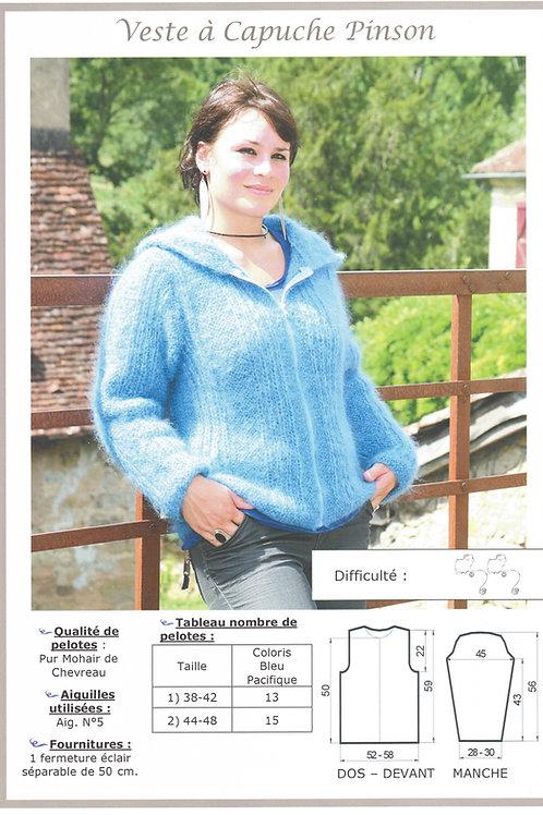 Veste à Capuche Pinson