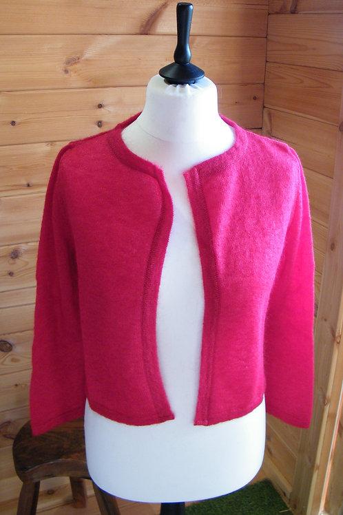 Cardigan jersey rubis