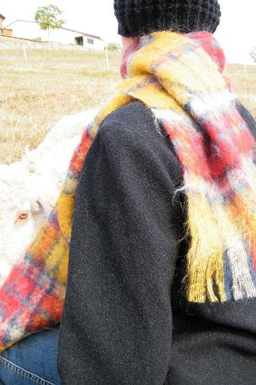 """Petite écharpe tissée """"Aglaé"""""""