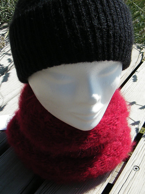 "Snood Mohair ""Grenade"""