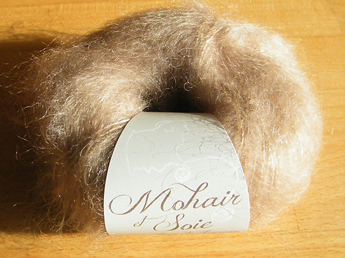 "Pelote Mohair et soie ""Liège"""