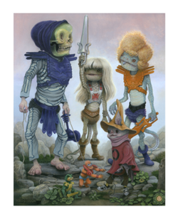 Power Greyskull (print), 2017