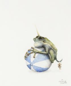 Frog on Ball (2019) _ Adonna Khare