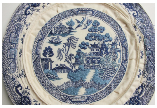 Blue Willow Plate - JESSICA SO REN TANG.
