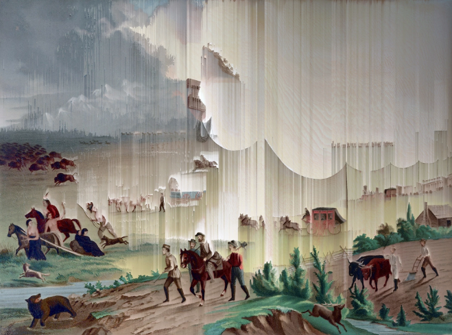 Manifest Destiny, 1872 (after John Gast)