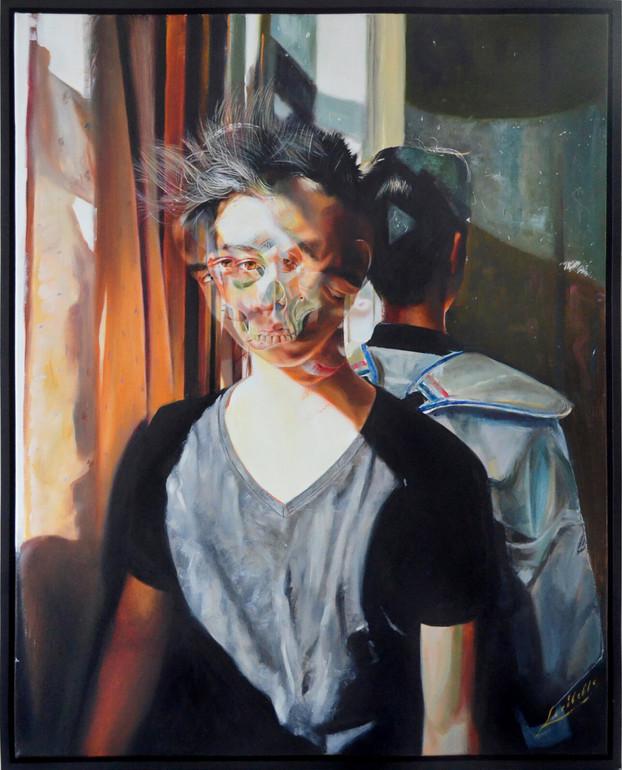 Memento Mori - Enemy Within, 2015 | Loribelle Spirovski