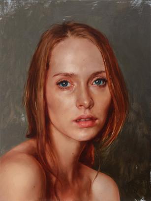 Portrait of Bailee, 2016   Aaron Nagel