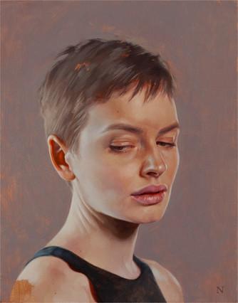 Portrait of Brooke, 2018   Aaron Nagel