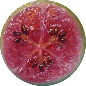 Fruit Portrait #14, 2014   Alonsa Guevara
