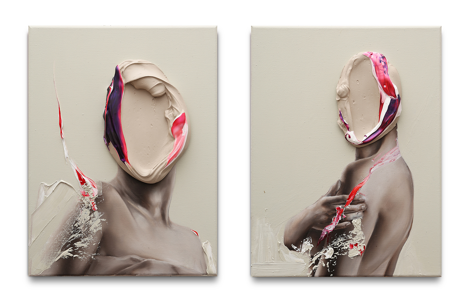 Diptych Migrating to the US - FABIO LA F