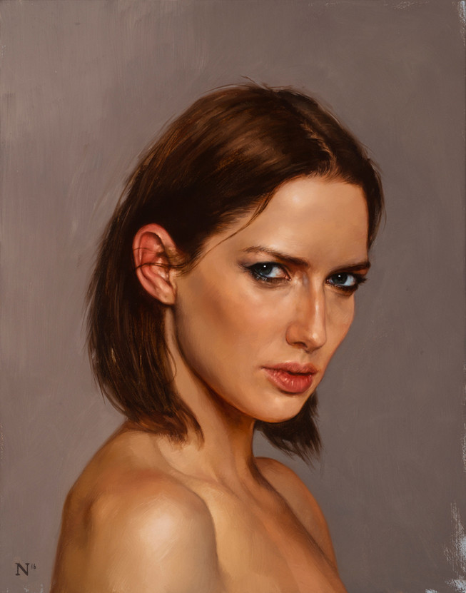 Portrait of Sarah, 2016   Aaron Nagel