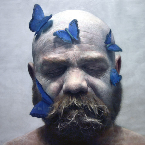 Francisco with Butterflies, 2013 | Eloy Morales
