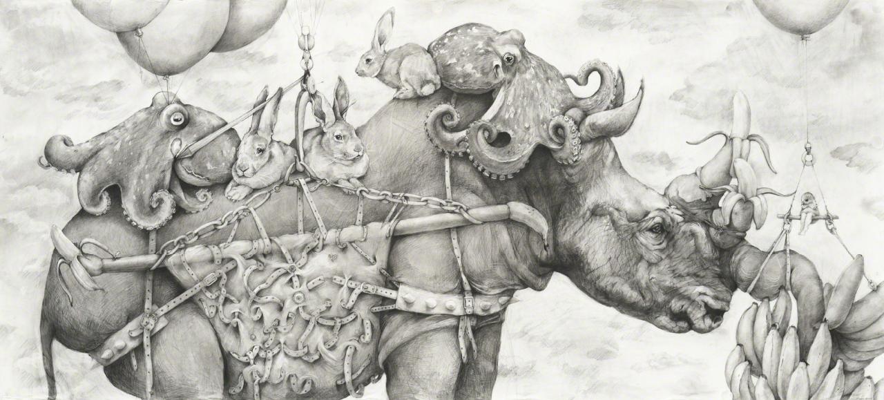 Rhino Banana (2019) _ Adonna Khare