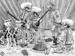 Denver Mothman Band (L.E. PRINT)