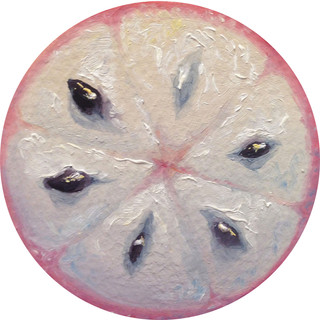 Fruit Portrait #12, 2014 | Alonsa Guevara