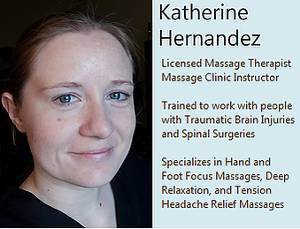 katherine face with words clinic instruc