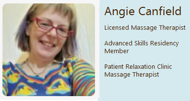 Angie face with words clinic.png
