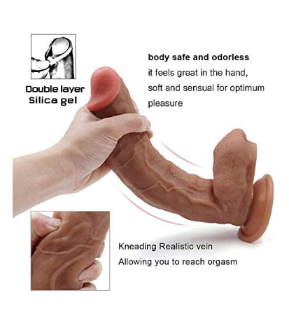 Very realistic and easy to reach orgasms