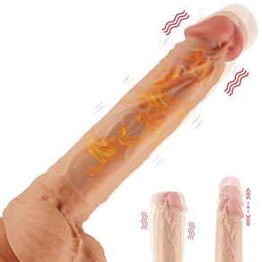 "8.6"" Thrusting Dildo Vibrator Women's Sex Toy Review"