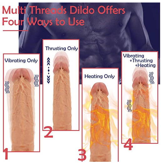 Features of the dildo sex toy