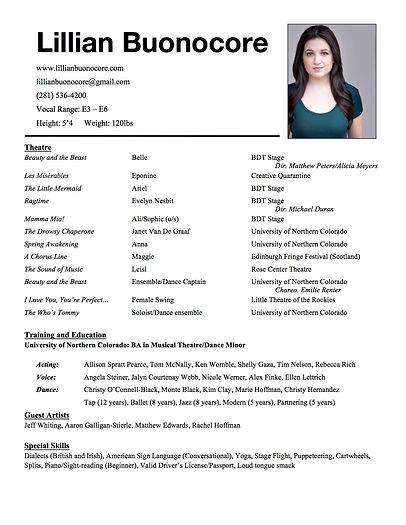 Lillian Buonocore Theatre Resume.jpg