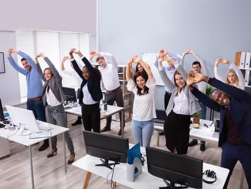 14 benefícios extremamente úteis que a Ginástica Laboral proporciona a todo trabalhador.