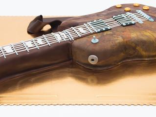 Gitara - Tort na osiemnastkę