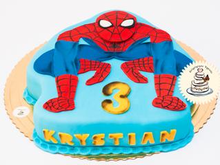 Niesamowity Spiderman 2 - tort urodzinowy