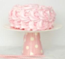 Tort z różami